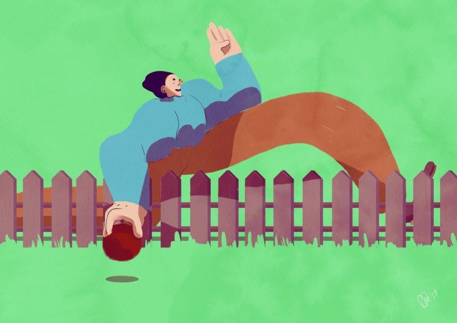 10. Scusi, mi è finito il pallone nel suo giardino (1880)