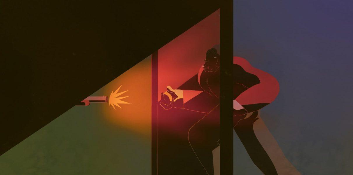 14. Un comodo antifurto: il fucile dietro la porta (1897)