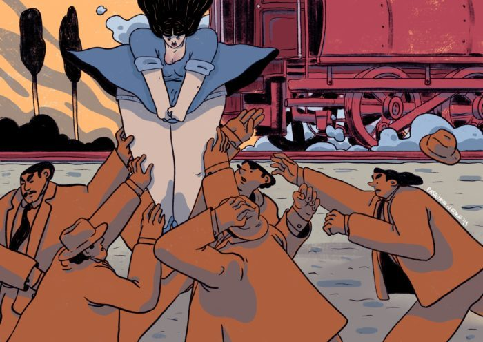 60. Scendere dal treno (1914)
