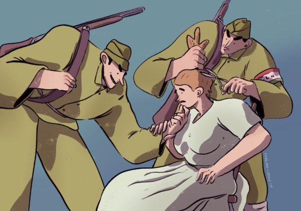 67. La tosatura di una donna fascista (1947)