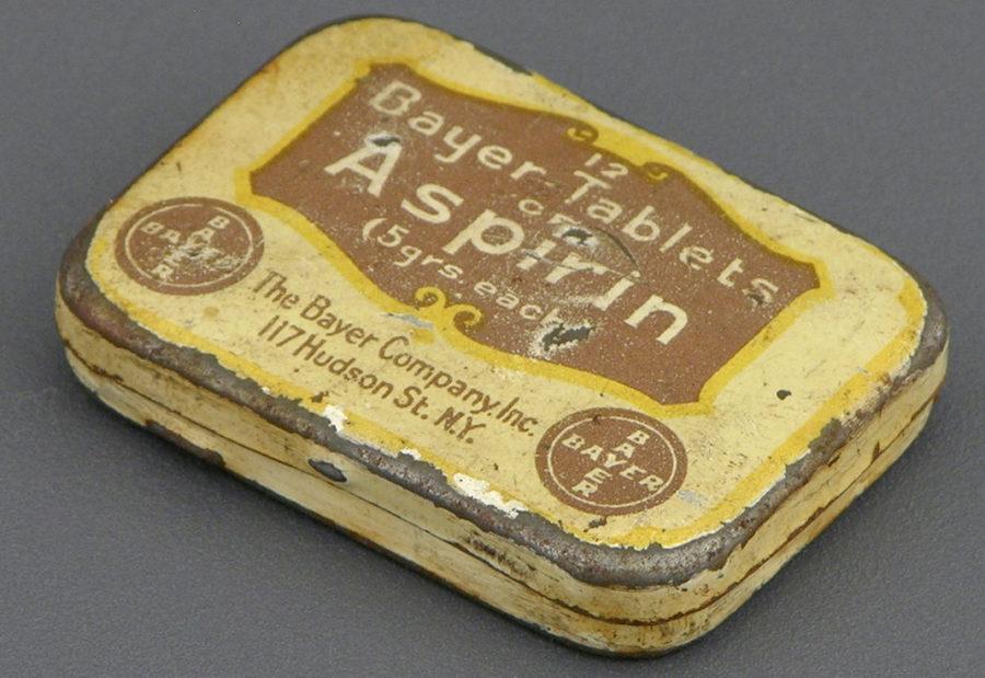 """6 Marzo 1899 – Viene registrato il marchio della """"Aspirina"""""""