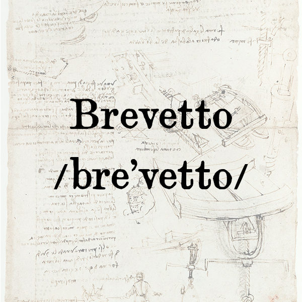 Brevetto, s.m.