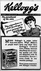 """14 aprile 1896 – Brevettati i """"corn flakes"""""""