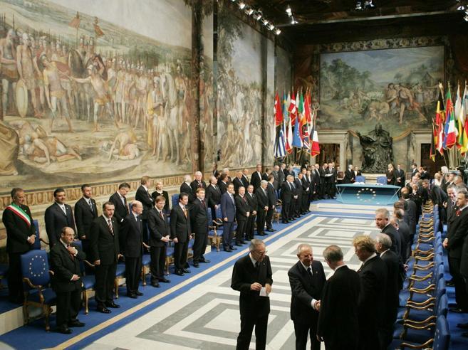 29 Maggio 2005 - I Francesi bocciano la Costituzione europea
