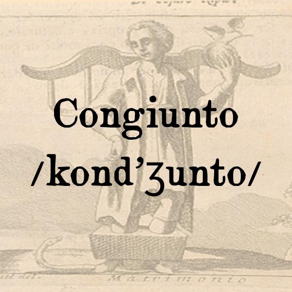 Etimologia di Congiunto