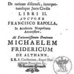 3 Giugno 1701 - Nasce Francesco Rapolla