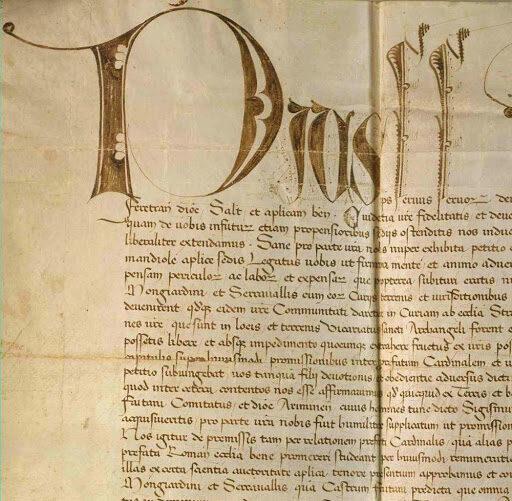 27 giugno 1463 – Firmati i Patti di Fossombrone