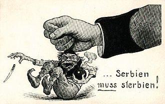 23 Luglio 1914 – L'ultimatum alla Serbia