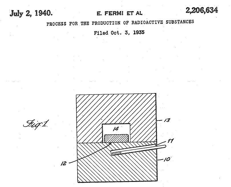 Il primo brevetto dell'Era Nucleare