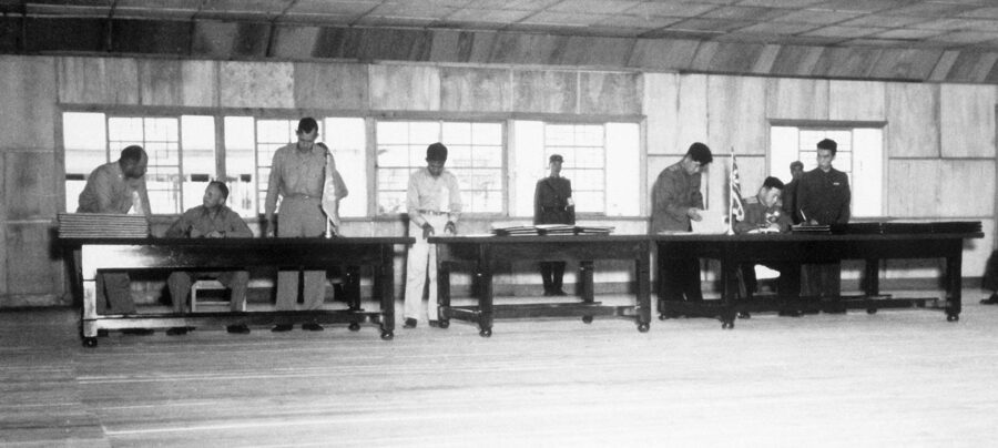 27 luglio 1953 – L'armistizio di Panmunjeom