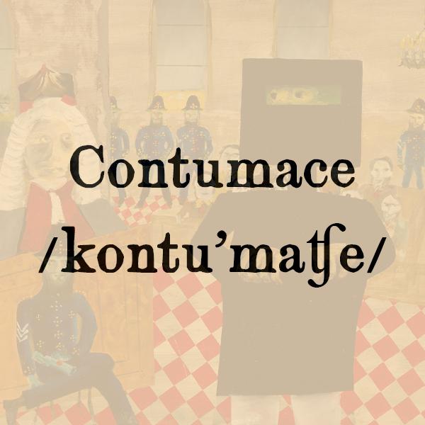 Etimologia di Contumace