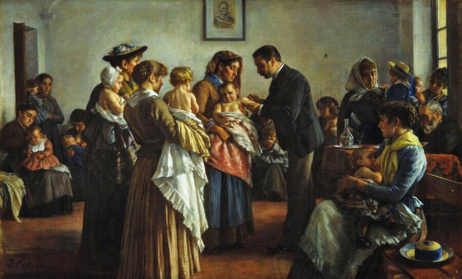 6 luglio 1885 – Louis Pasteur utilizza il vaccino antirabbico sull'uomo