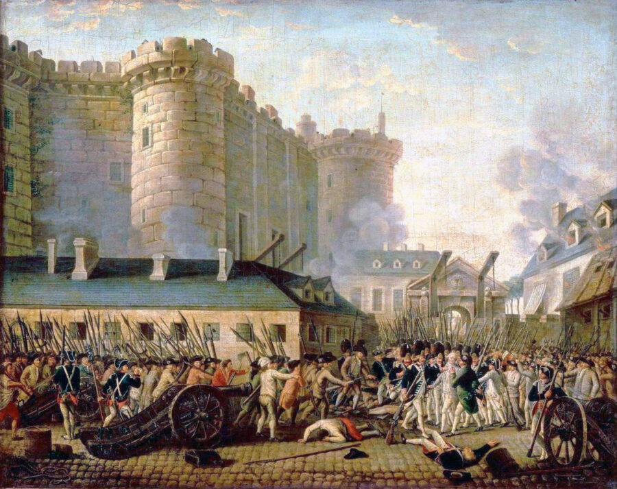 14 Luglio 1789 – La presa della Bastiglia