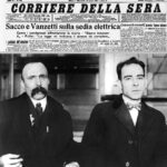 23 agosto 1927 - Eseguita la condanna a morte di Sacco e Vanzetti
