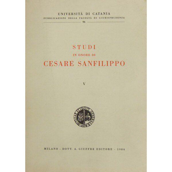 27 Agosto 2000 – Muore Cesare Sanfilippo