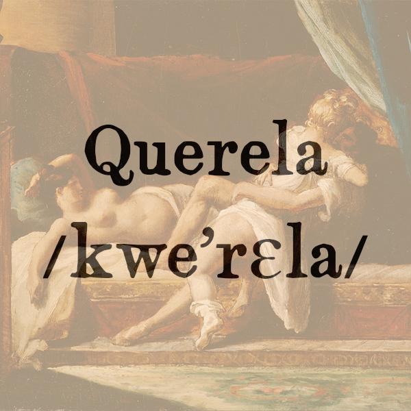 Etimologia di Querela