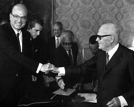 4 Agosto 1983 – Nasce il Governo Craxi I