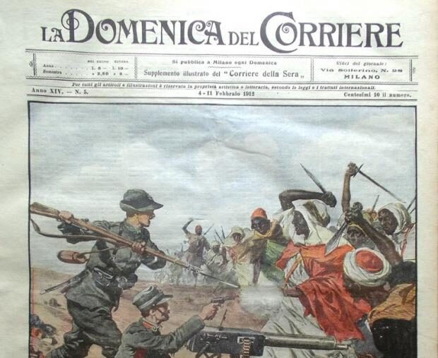 29 Settembre 1911 – L'Italia dichiara guerra all'Impero Ottomano per la Libia