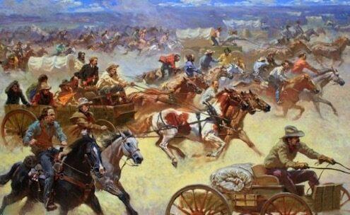 16 settembre 1893 – Corsa alla terra dell'Oklahoma