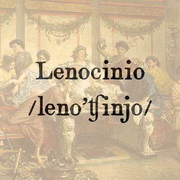 Lenocinio, s.m.