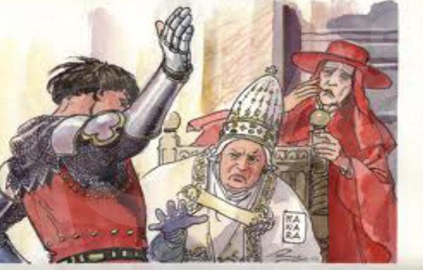 7 Settembre 1303 – Lo schiaffo di Anagni