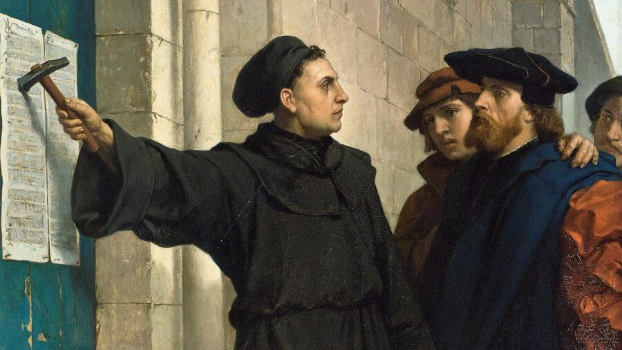 31 Ottobre 1517 – Martin Lutero affigge le 95 tesi
