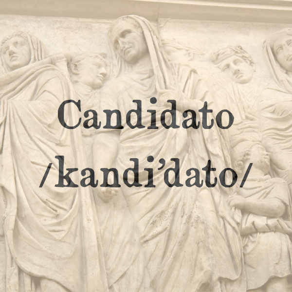 Etimologia di Candidato