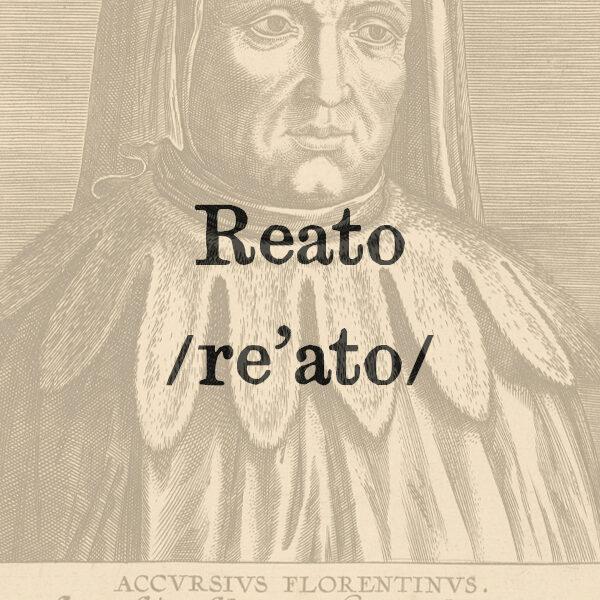 Reato, s.m.
