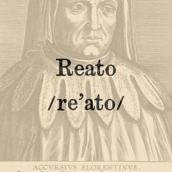 Etimologia di Reato