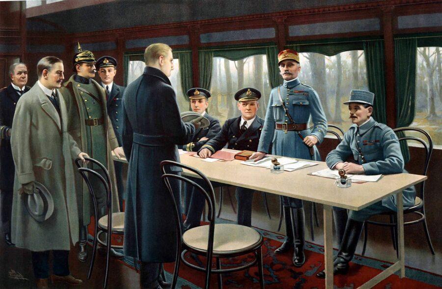 11 Novembre 1918 – Termina la Grande Guerra