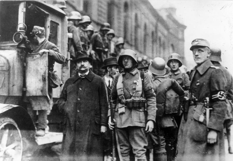 8 Novembre 1923 – Il putsch di Monaco