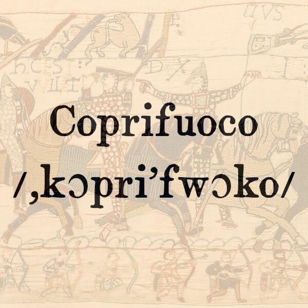 Coprifuoco, s.m.