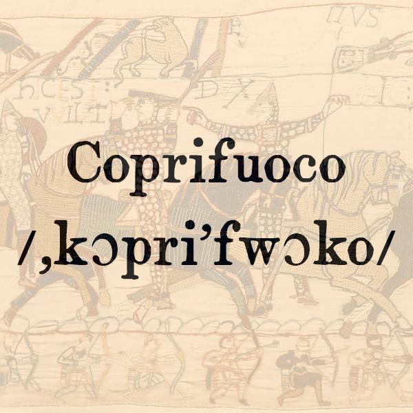 Etimologia di Coprifuoco