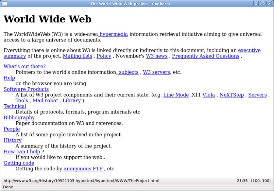 13 novembre 1990 – Viene scritta la prima pagina del World Wide Web