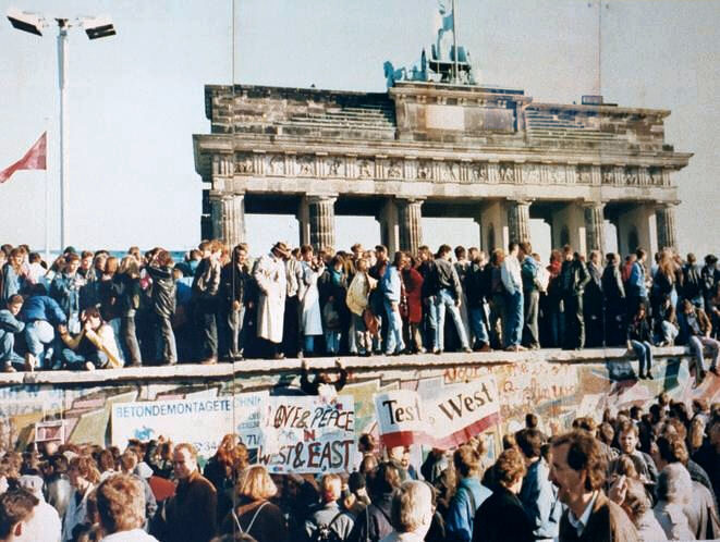 9 Novembre 1989 – Cade il Muro di Berlino