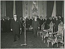 24 Dicembre 1971 – Elezione di Giovanni Leone a Presidente della Repubblica