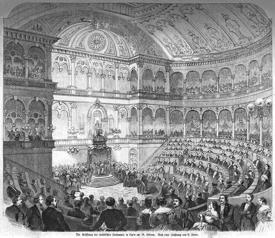 17 Dicembre 1860 – Si scioglie la legislatura del Regno di Sardegna per le prime elezioni dell'Italia unita