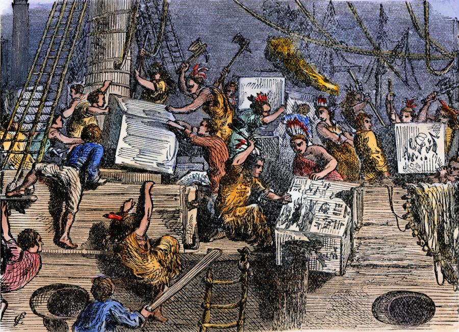 16 Dicembre 1773 – Boston Tea Party