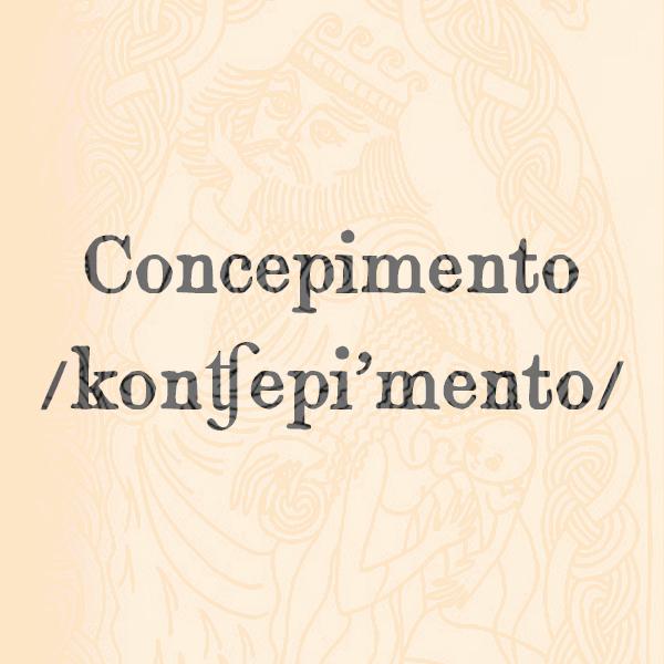 Etimologia di Concepimento