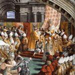 25 Dicembre 800 - Carlo Magno viene incoronato Imperatore a Roma da papa Leone III
