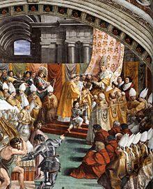 25 Dicembre 800 – Carlo Magno viene incoronato Imperatore a Roma da papa Leone III