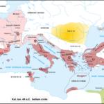 10 Gennaio 49 a.C. - Giulio Cesare varca il Rubicone