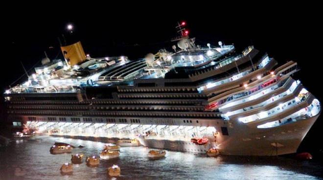 13 Gennaio 2012 – Affonda la Costa Concordia