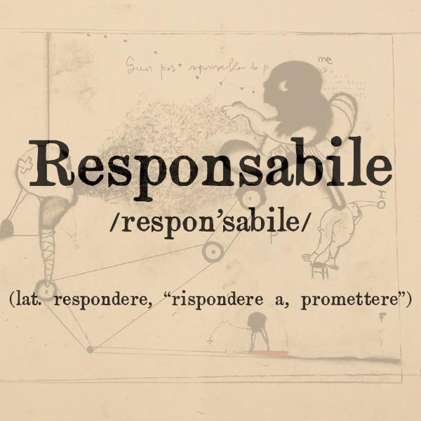 Etimologia di Responsabile, agg. e s.m.