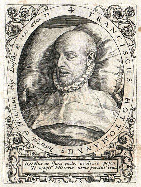 12 Febbraio 1590 – Muore François Hotman