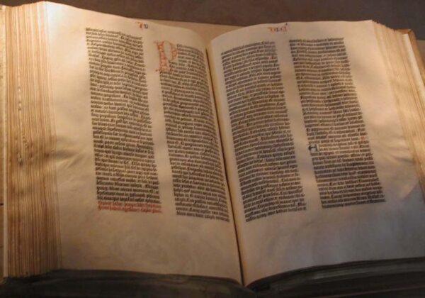 23 febbraio 1455 – Pubblicata la Bibbia di Gutenberg