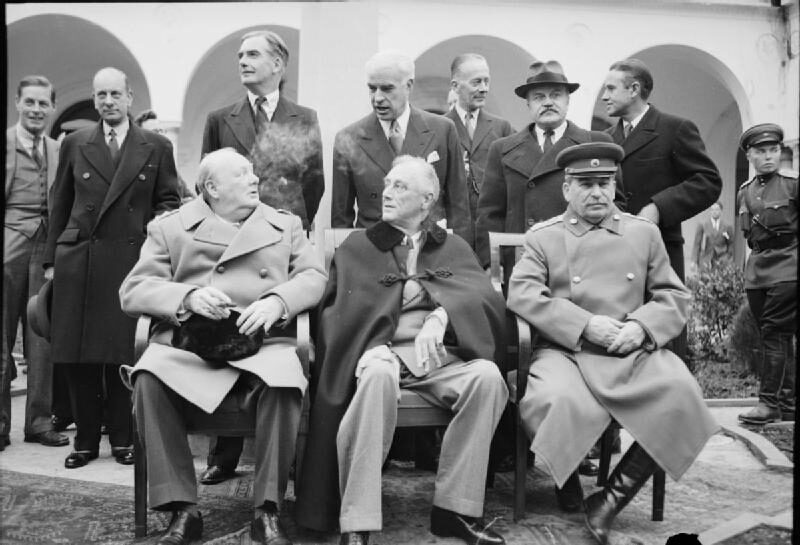 4 Febbraio 1945 – Incomincia la Conferenza di Yalta