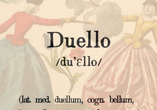 Duello, s.m.
