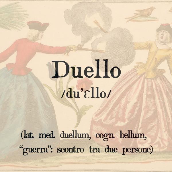 Etimologia di Duello