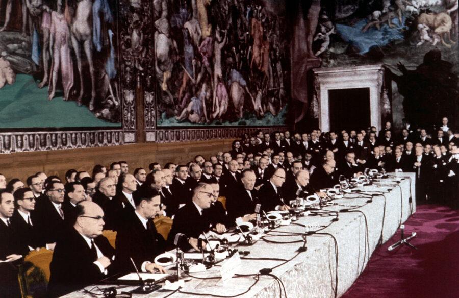 25 marzo 1957 – Firmati i Trattati di Roma